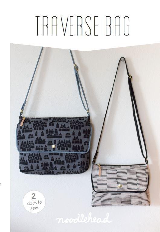 noodlehead traverse bag sewing pattern