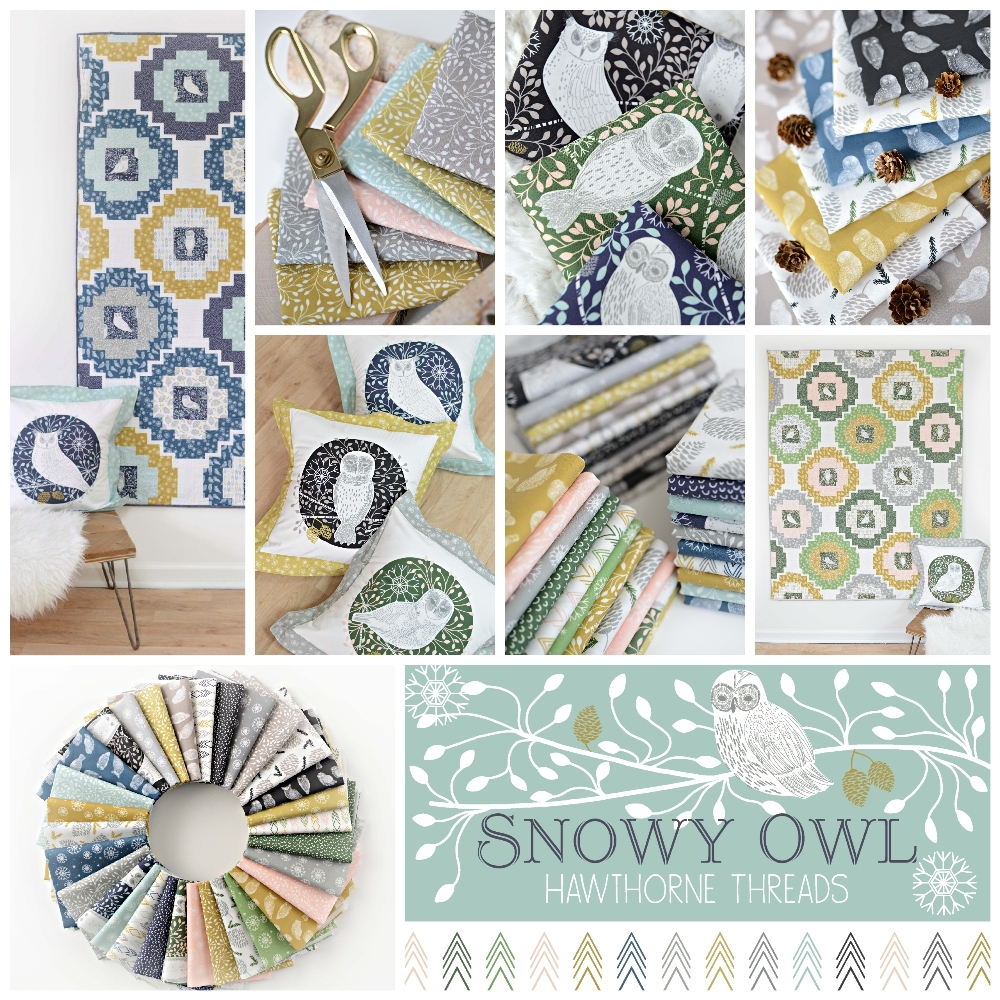 Snowy Owl Fabric Poster 1000
