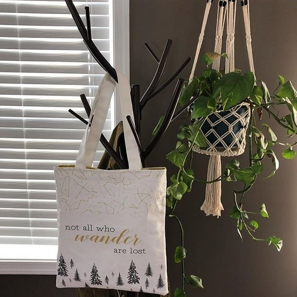 HT Sew and Tell Tote Panels
