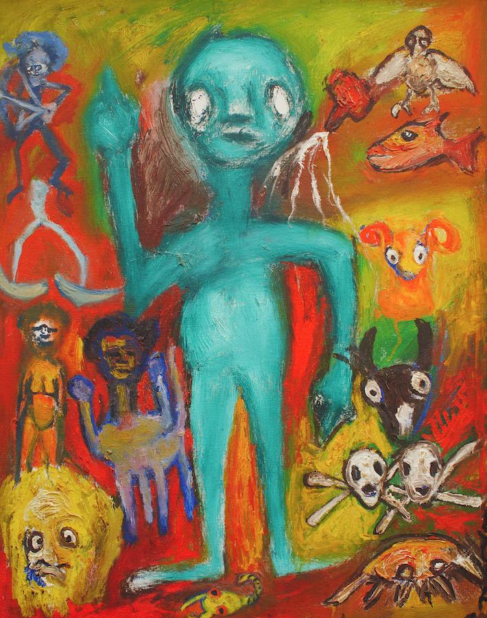 Tony McKay Painting