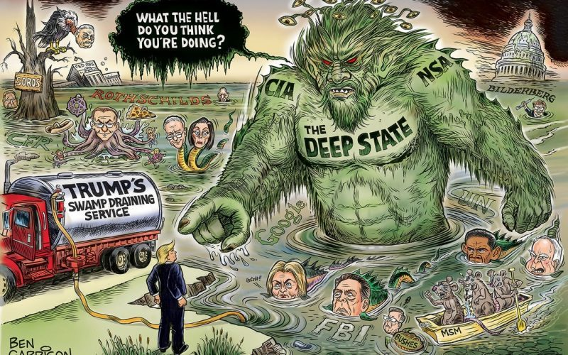 deep state swamp