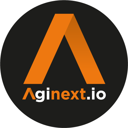 Aginext Circle logo no London -01