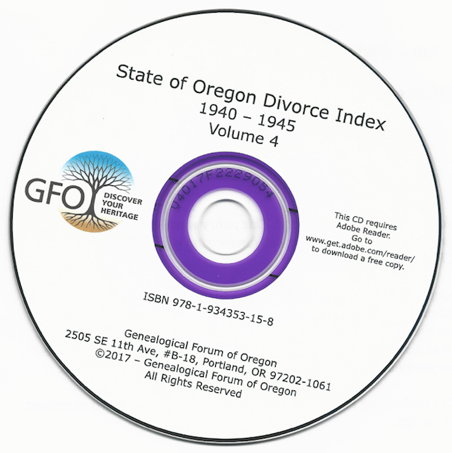 OR Divorce CD Cover