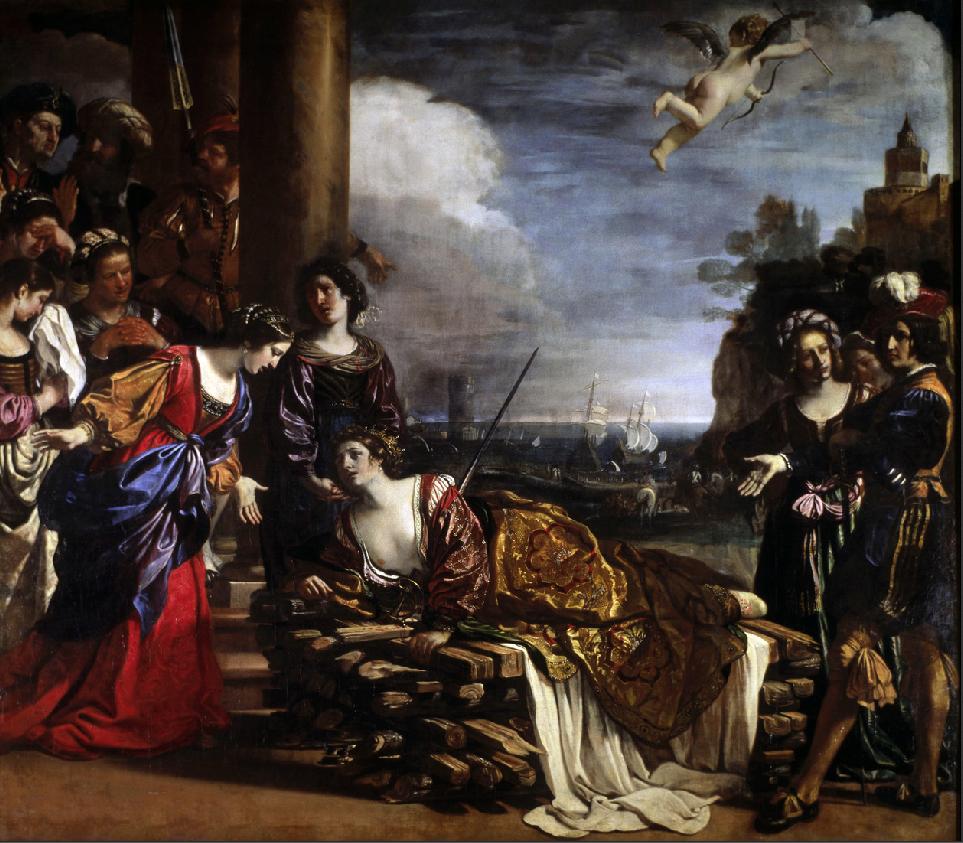 Guercino Morte di Didone