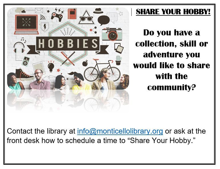 Share your Hobby