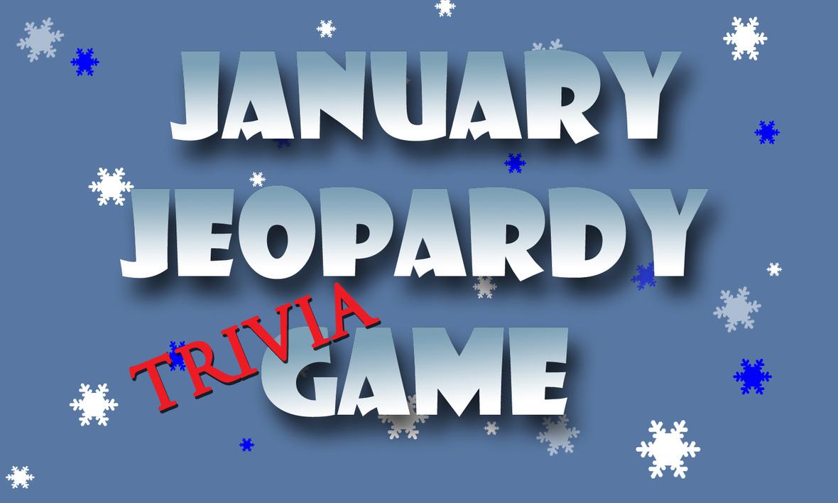 January jeopardy logo