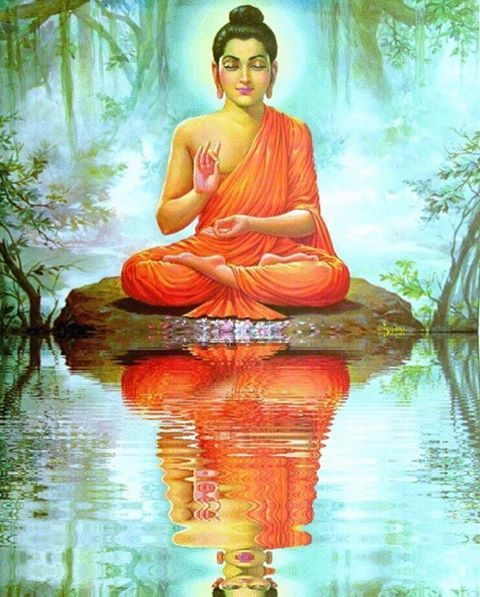 BuddhaMeditatingReflection