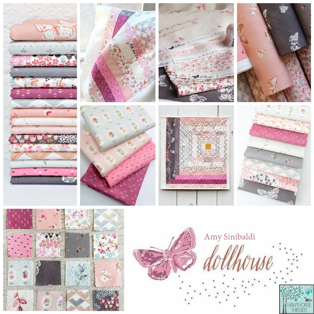 Dollhouse Fabric poster