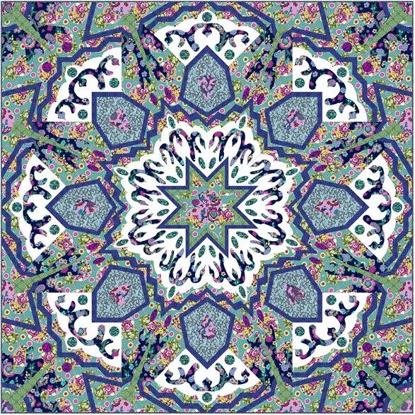 Symphony Free Quilt Pattern