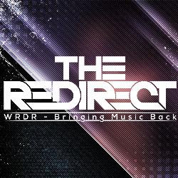 Redirect radio cover white text