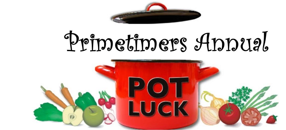 Primetimers annual potluck