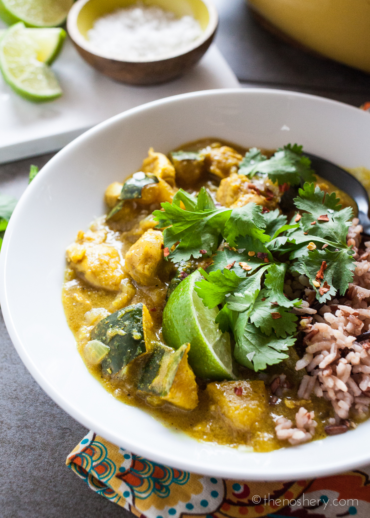 Chicken Acorn Squash Curry-3