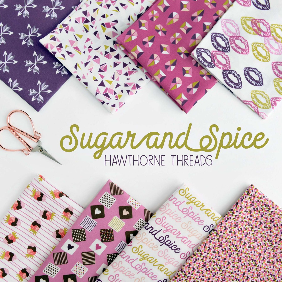 HT Sugar and Spice Fabric Poster