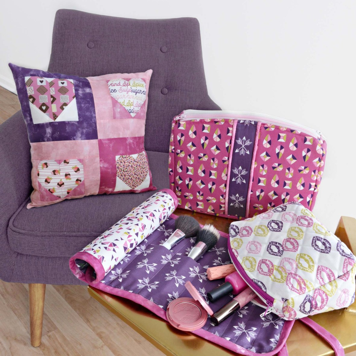 Sugar and Spice Sewing Projects for Valentines