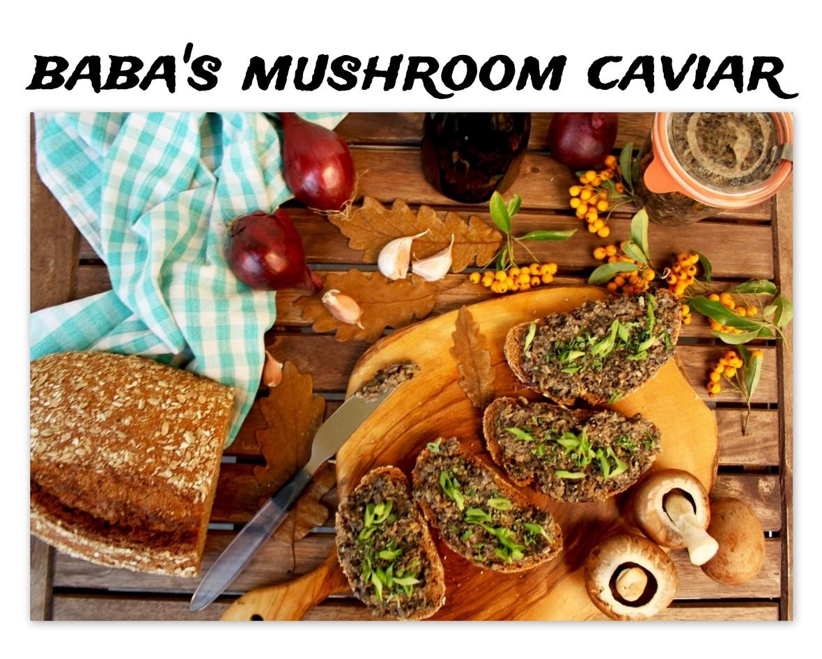 Ukrainian Mushroom New Year Recipe