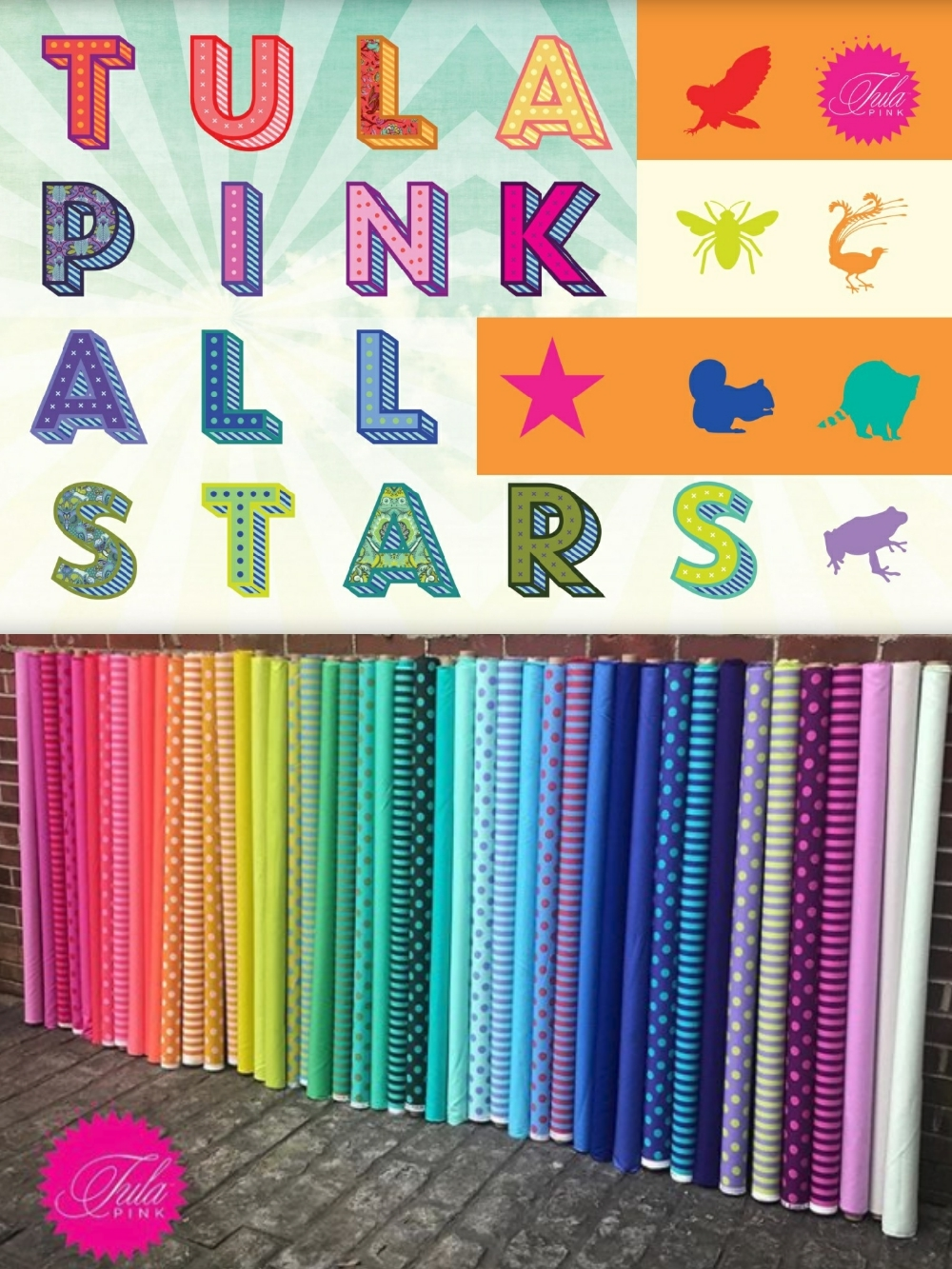 Pre order tula pink 39 s all stars for Where to order fabric