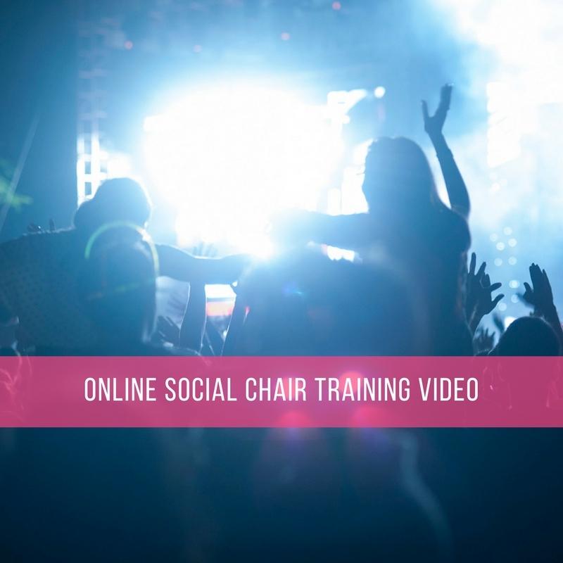 Online Social Chair Training Video