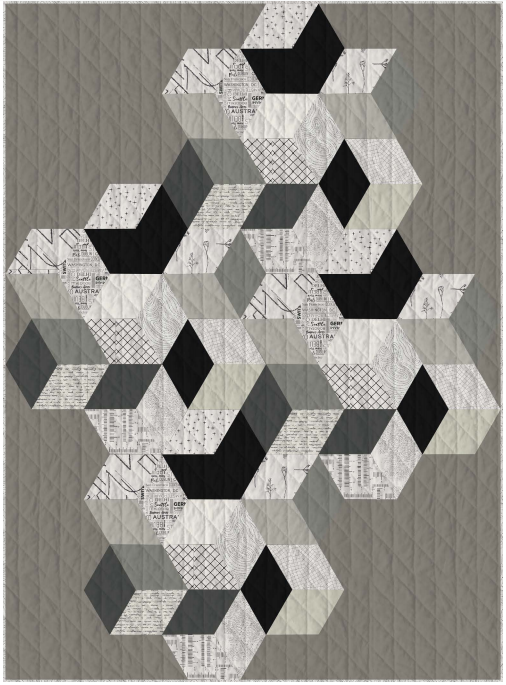 Art Gallery- acoustic- free quilt pattern