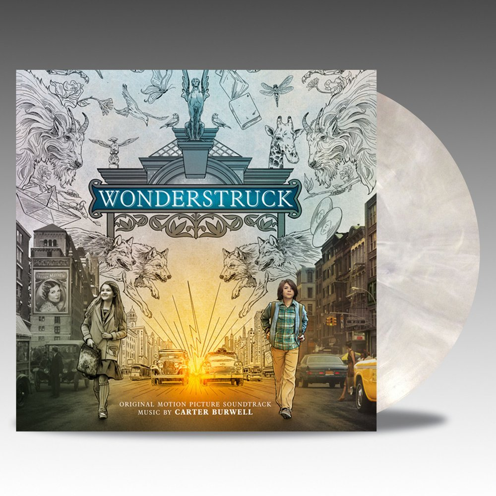 Wonderstruck white vinyl