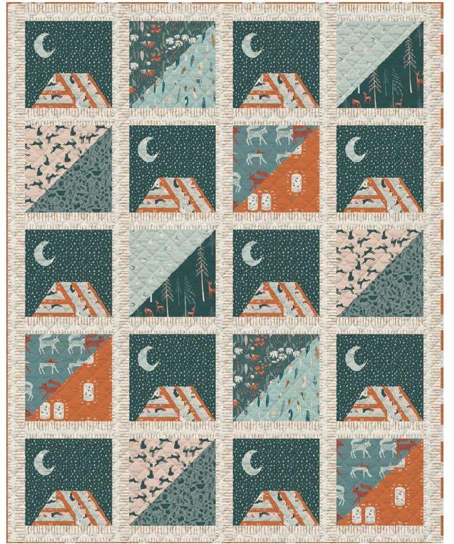 Art Gallery Fabrics- free quilt pattern