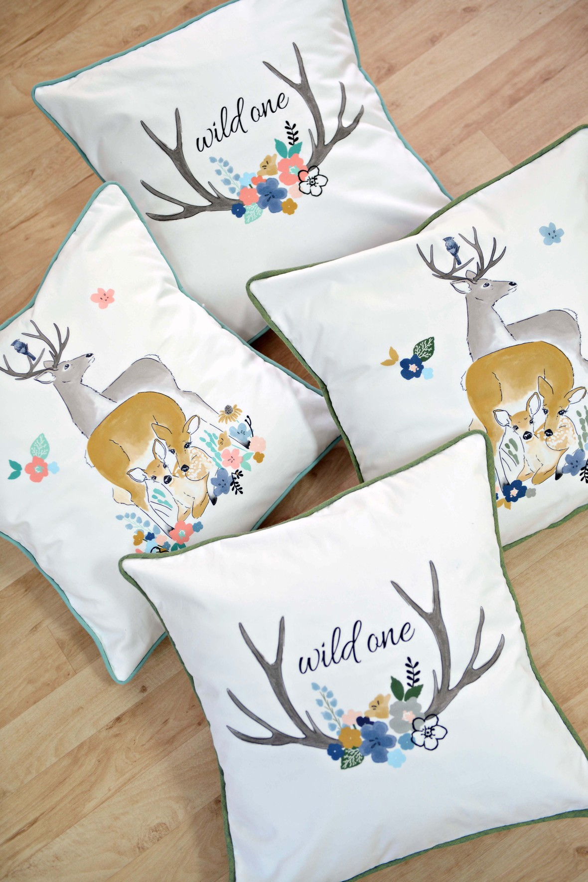 Oh Deer Fabric Pillows - Copy