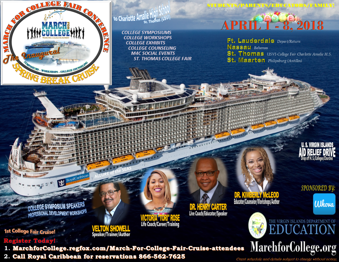 College Fair Flyer Royal Cruise Attendee