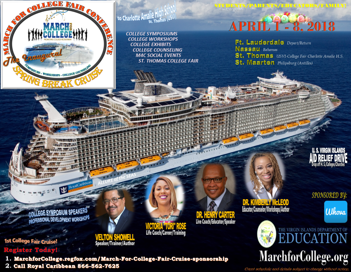 College Fair Flyer Royal Cruise Sponsorship