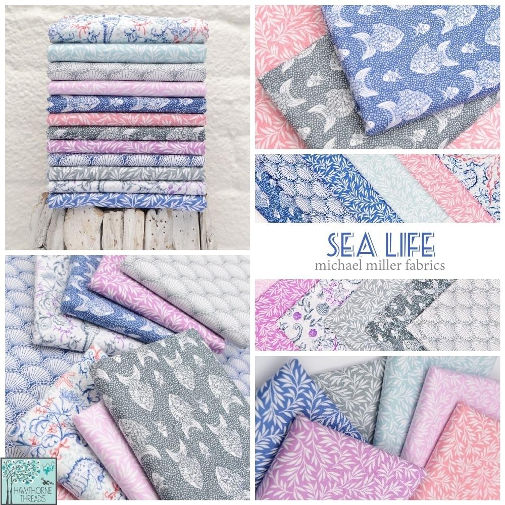Sea Life Fabric Poster