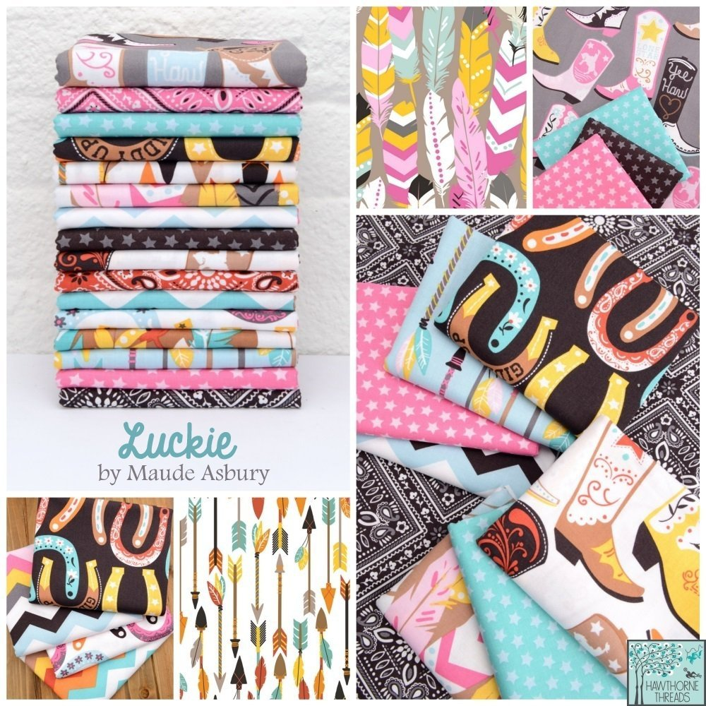 Luckie Fabric Poster