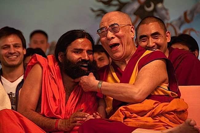 laughing dali lama