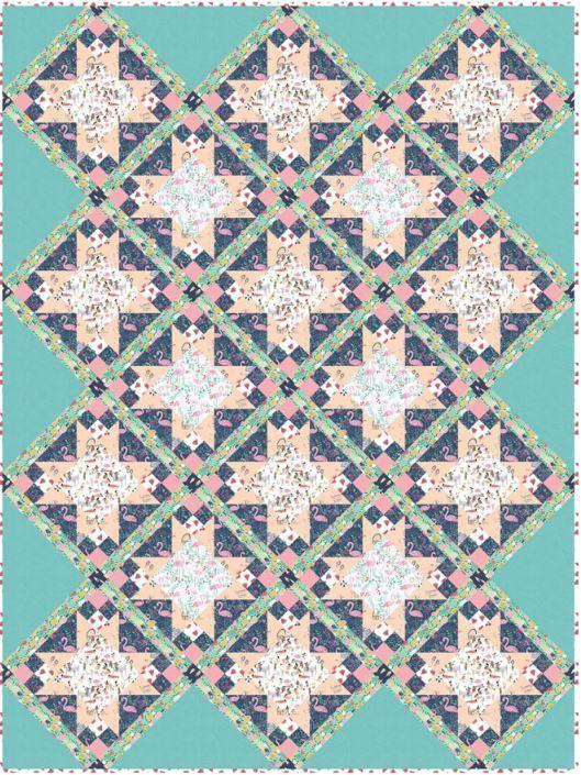 dear stella- Meadow 11 - free quilt pattern