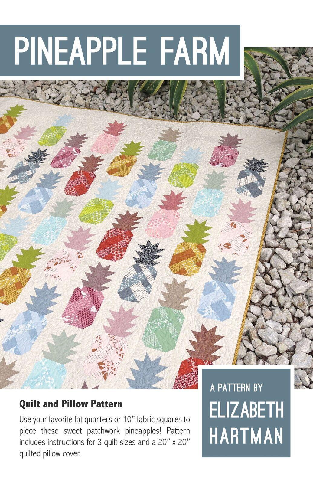 elizabeth hartman pineapple farm sewing pattern