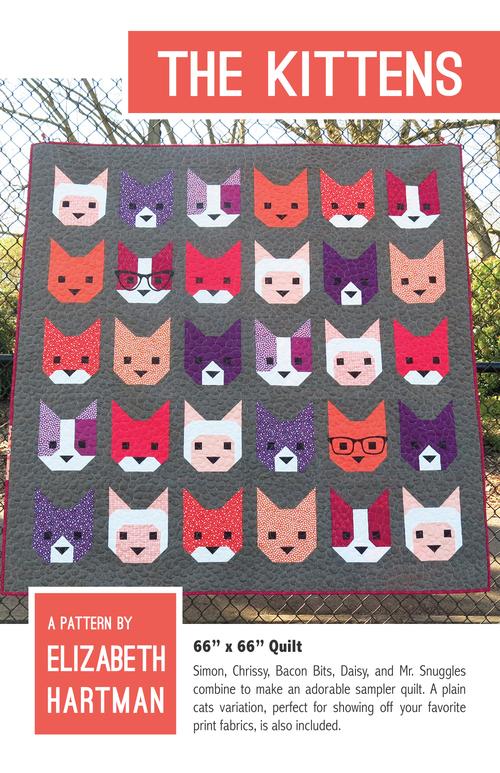 elizabeth hartman the kittens sewing pattern