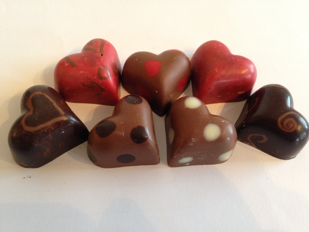Designer Hearts - Chocolate Workshop