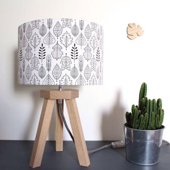 Bjorn Bear Fabric desk lamp