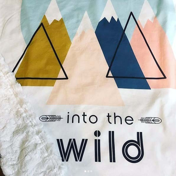 Into the Wild Quilt Panel