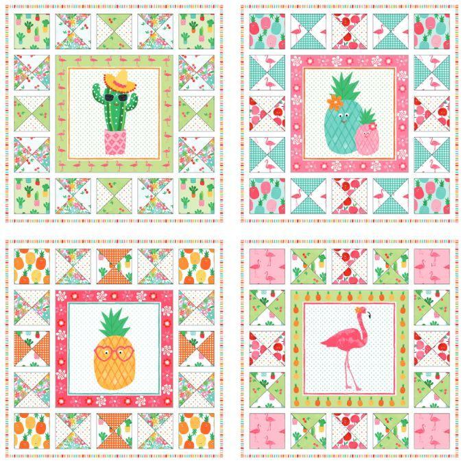 makower Uk- free quilt pattern  coming soon