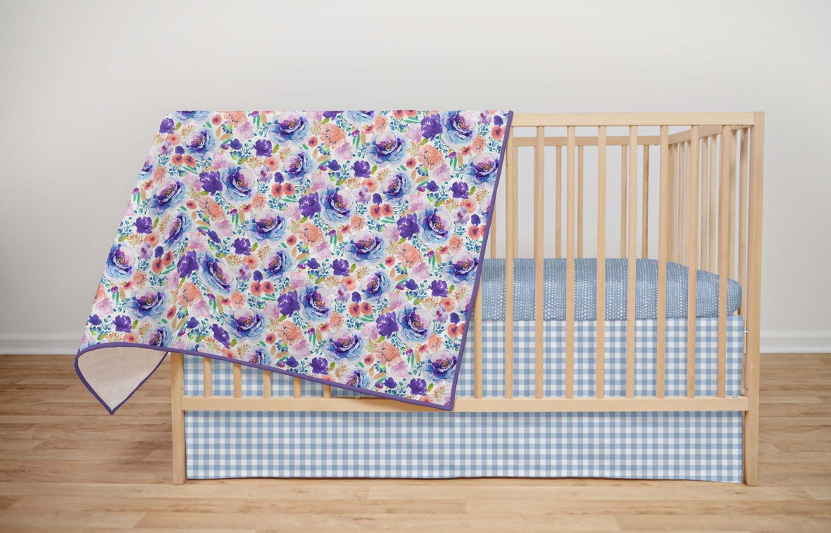 Ultra Violet Crib with Water sheets