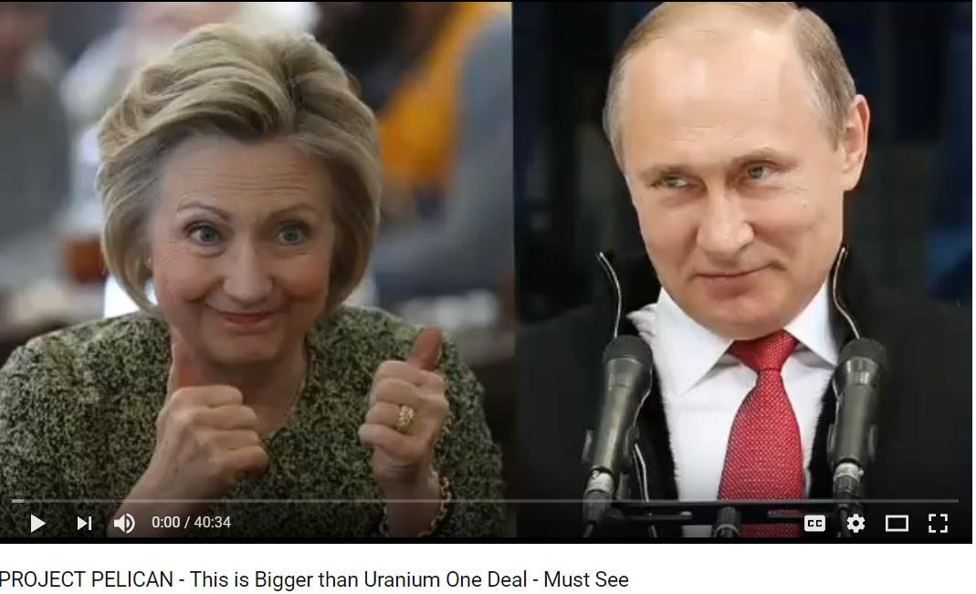 Jan 22nd newsletter Hillary Uranium One