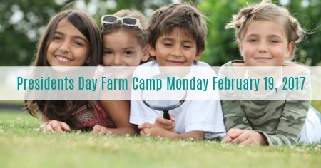 Presidents Day Farm Camp Slider Pic