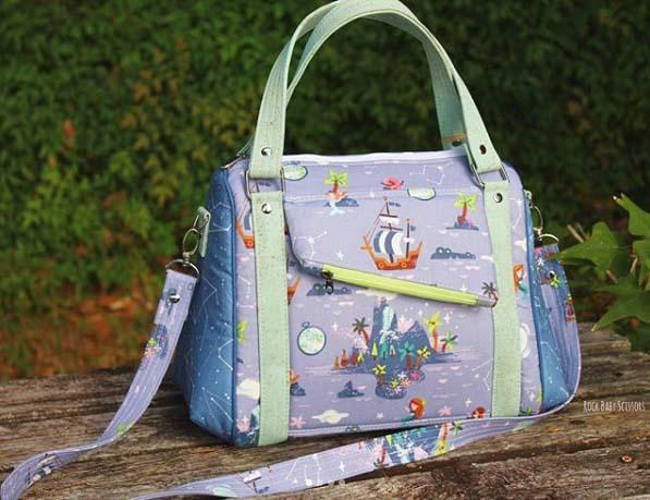 Rock Baby Scissors Neverland Bag