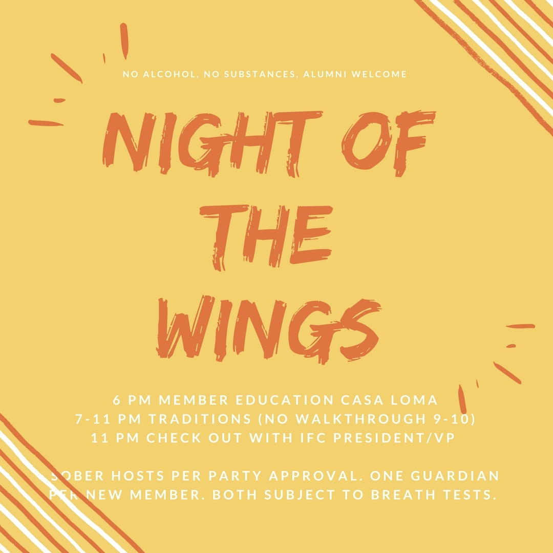 Night of the Wings 1