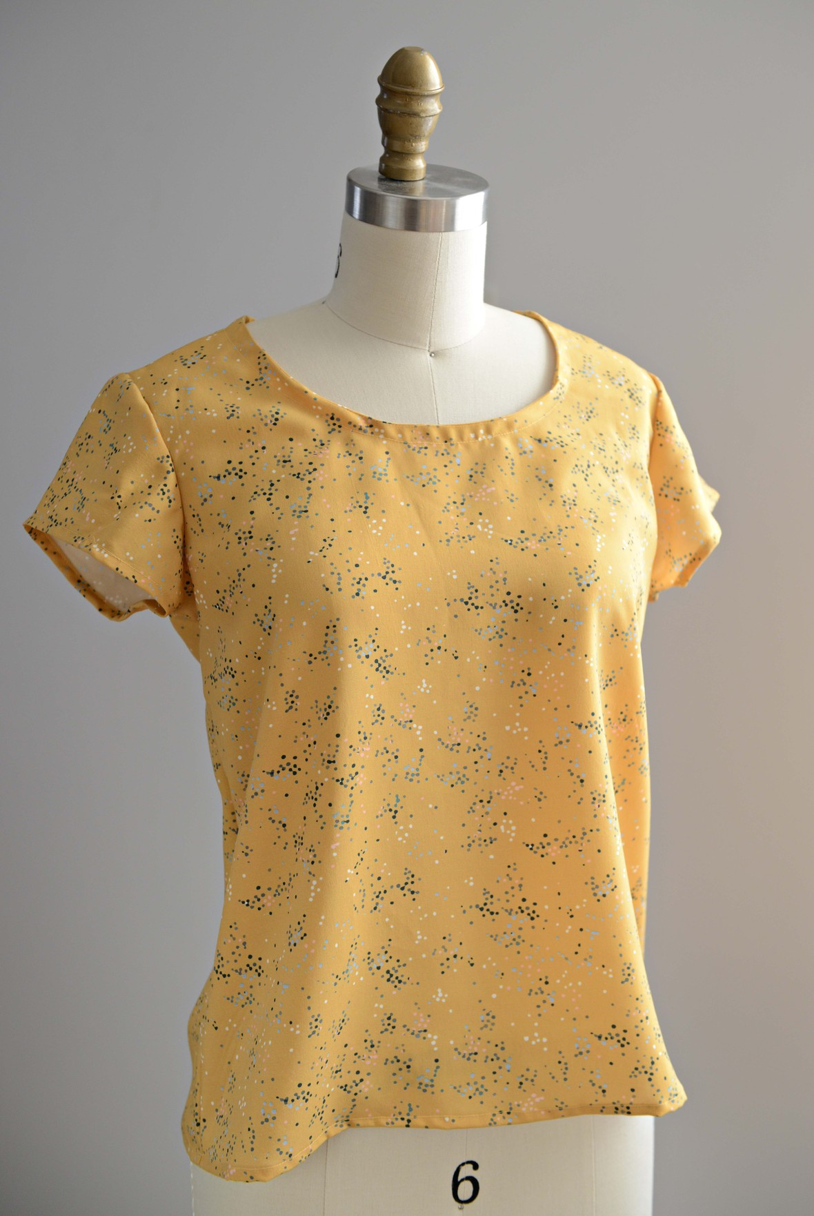 Morning Bloom Rayon Scout Tee