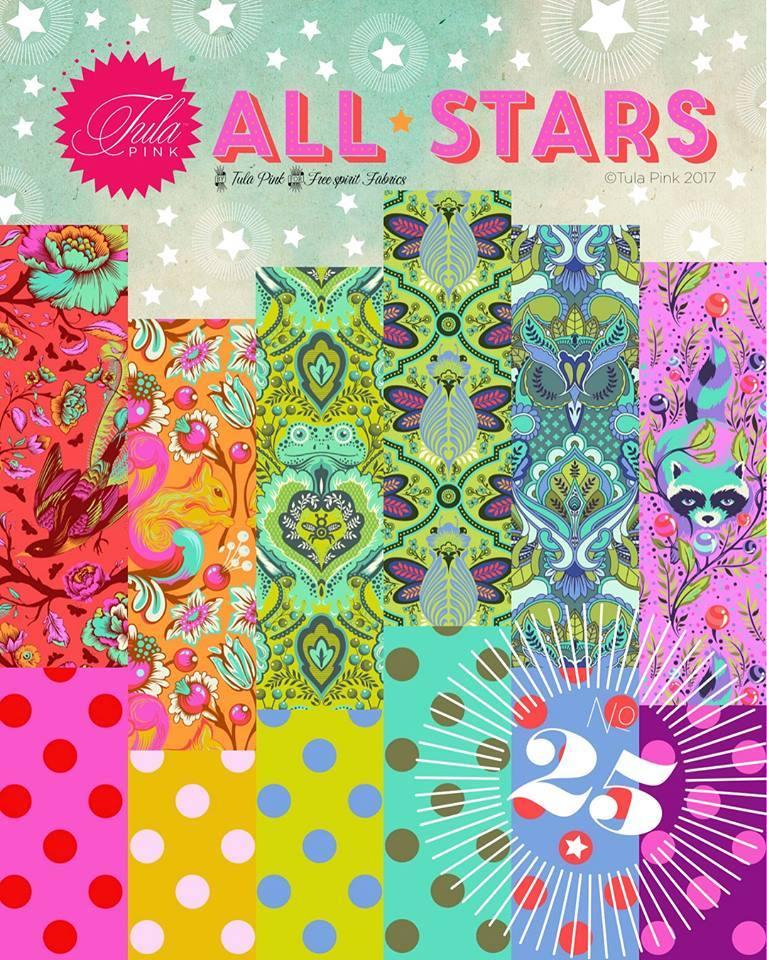 Tula Pink All Stars Poster