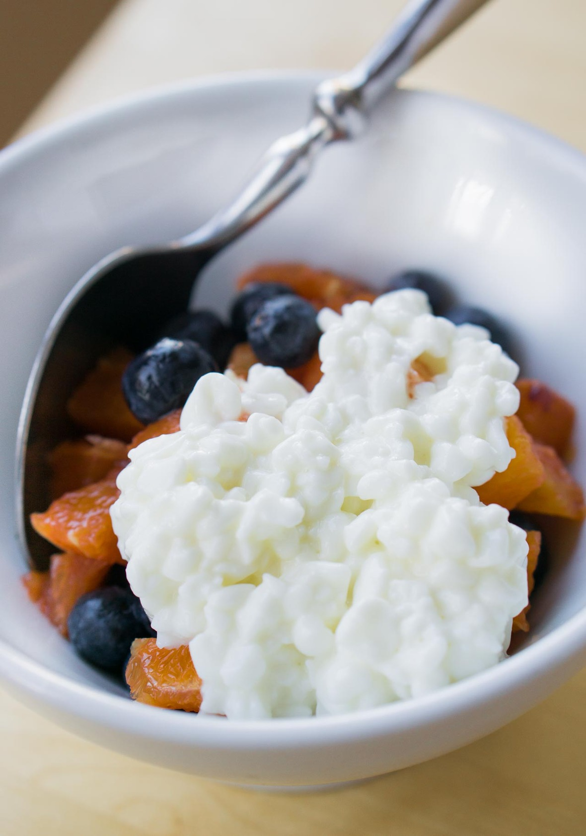 Homemade cottage cheese-3