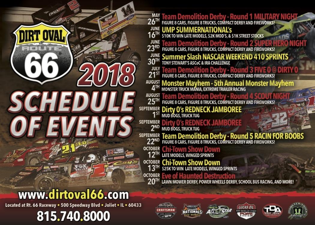 66 schedule 2018