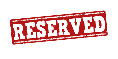 reserved seating 500x250
