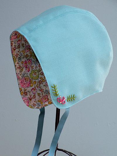 Rosey Little Things Storybook Woods Bonnet Pattern