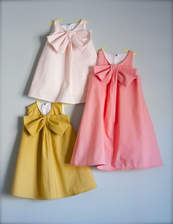 One Little Minute Bow Dress