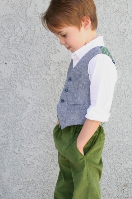 Oliver and S Art Museum Vest Better off Thread